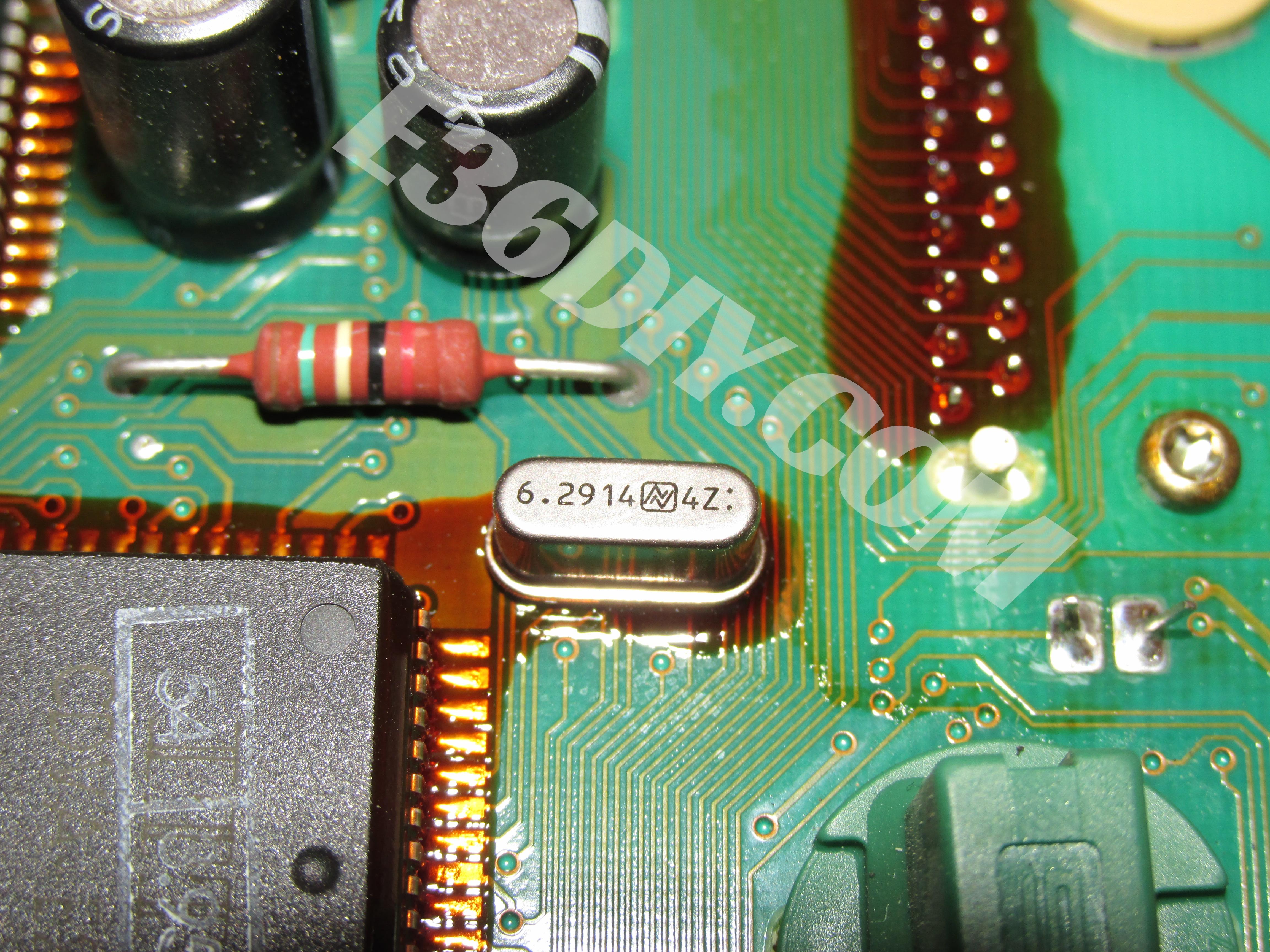 MW E36 M3 Gauge Cluster Repair